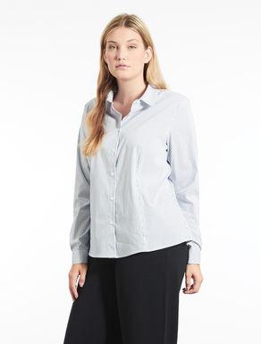 Camicia in cotone e nylon a fantasia