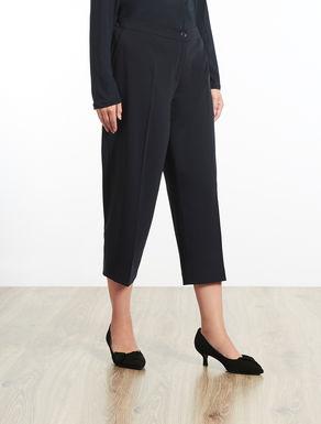 Pantalone cropped fluido