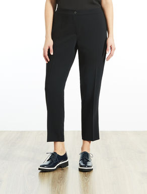 Fließende Slim Fit Hose