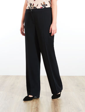 Pantalon en tissu fluide confortable