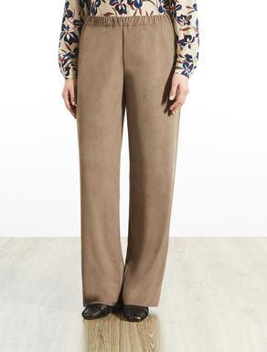 Pantalone effetto camoscio