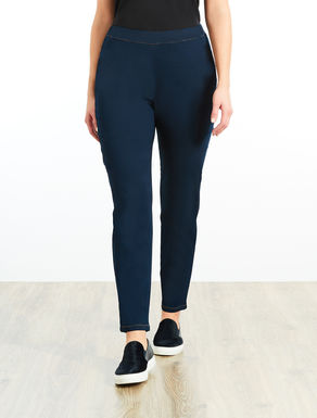Pantalon coupe legging en denim