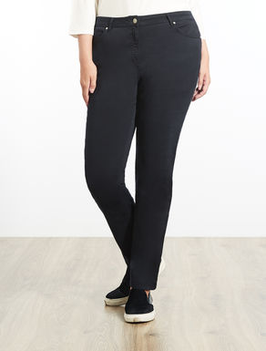 Pantalone Shaping fit in raso stretch