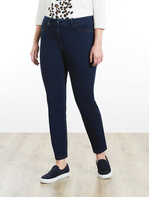Jegging-fit trousers in denim