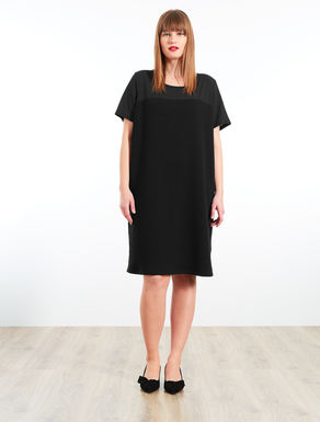 Lightweight sweatshirt and sablé dress