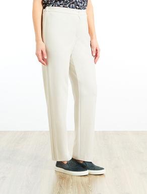 Pantalone a sigaretta in jersey