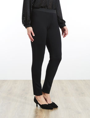 Leggings-fit trousers in jersey