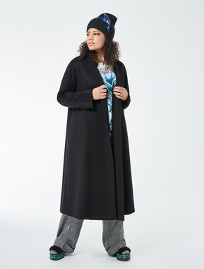 Long, cashmere broadcloth coat