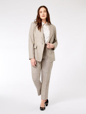 Bamboo wool blazer jacket