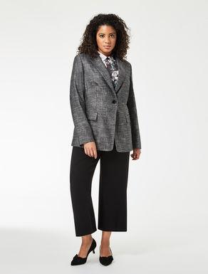 Bamboo wool blazer jacket