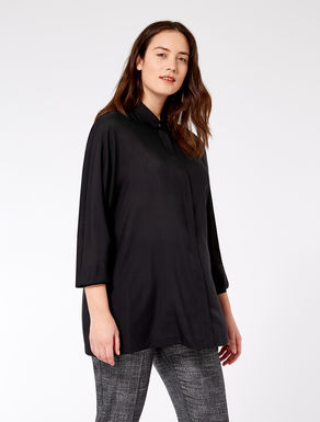 Pure wool gauze shirt