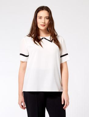 Short silk tunic