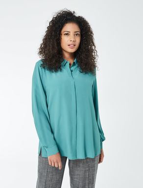 Crêpe de chine shirt