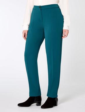 Trousers in comfort triacetate