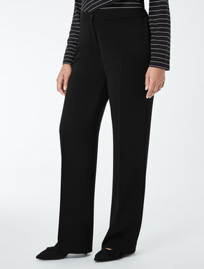 Comfortable triacetate trousers