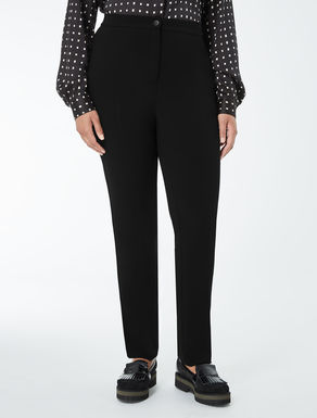 Slim-fit, comfort triacetate trousers