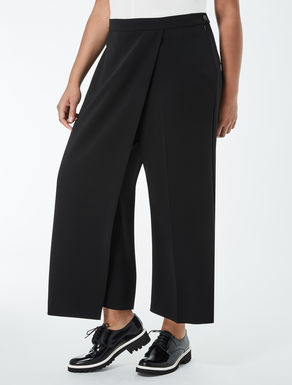 Triacetate cropped trousers