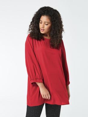 Crêpe de chine tunic