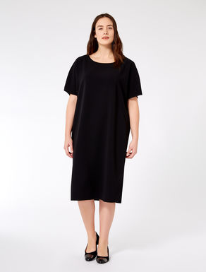 Relaxed triacetate dress