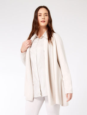 Cardigan in misto cachemire e lana
