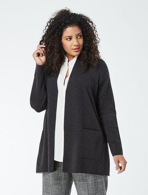 Cardigan in pura lana