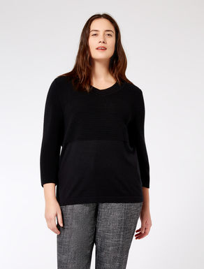 Wool merino blend sweater