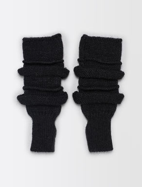 Mixed wool gloves