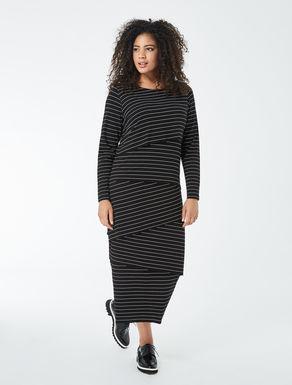 Long jersey dress