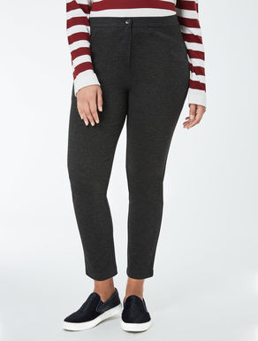 Fitted jersey leggings