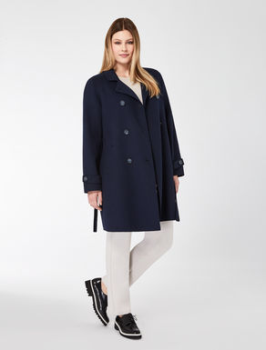 Manteau en double laine