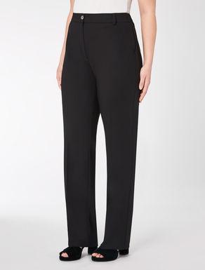 Pantalon classique en sergé de laine