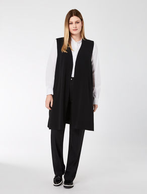 Long triacetate gilet