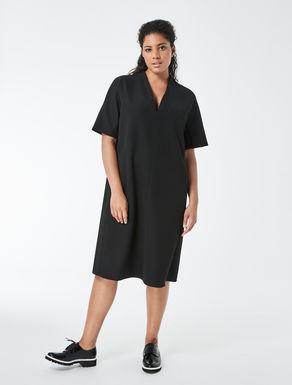 Technical fabric A-line dress