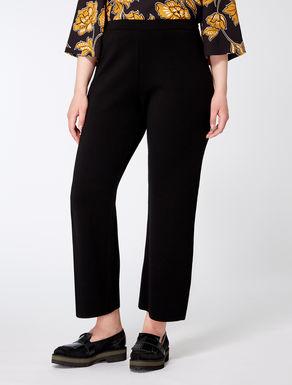 Pantalon large en laine