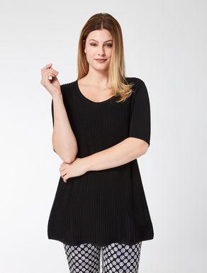 Long viscose sweater