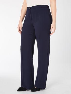 Classic floaty crêpe trousers