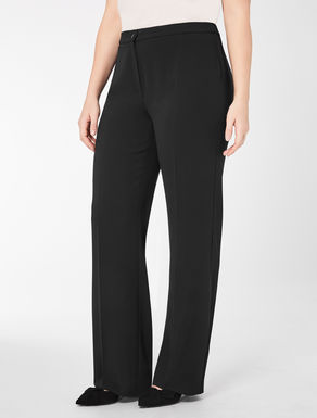 Classic floaty crêpe trousers