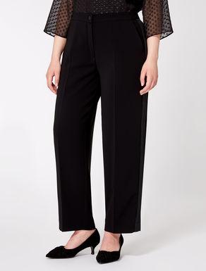 Comfortable triacetate trousers