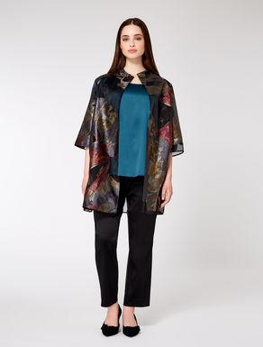 Lurex fil coupé jacket