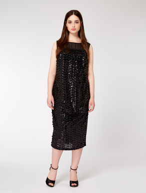 Sequinned sheath dress