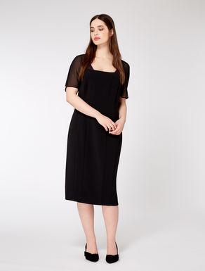 Triacetate sheath dress