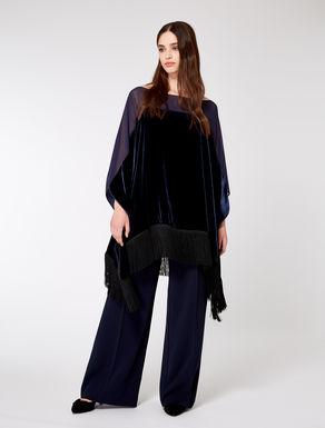 Velvet tunic
