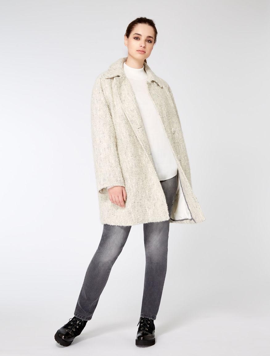 Giaccone in misto lana