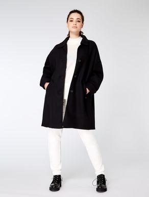 Double wool coat
