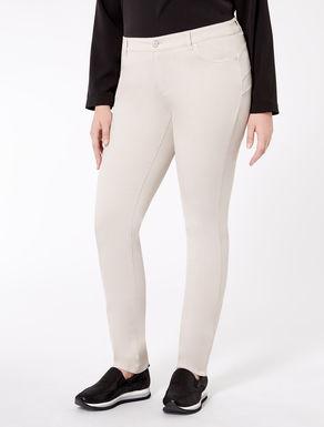 Gabardine Wonder-fit trousers
