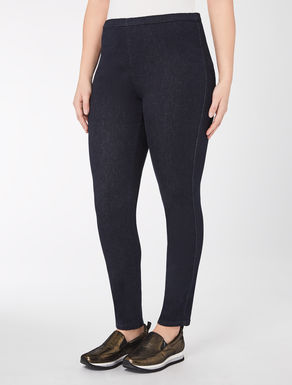 Pantalon legging en denim stretch