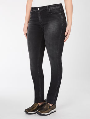 Pantalone Wonder fit in denim stretch