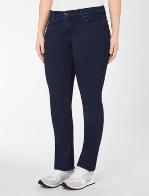 Jersey denim Wonder-fit jeans