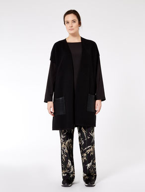 Long viscose cardigan