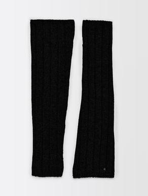 Knit muffs
